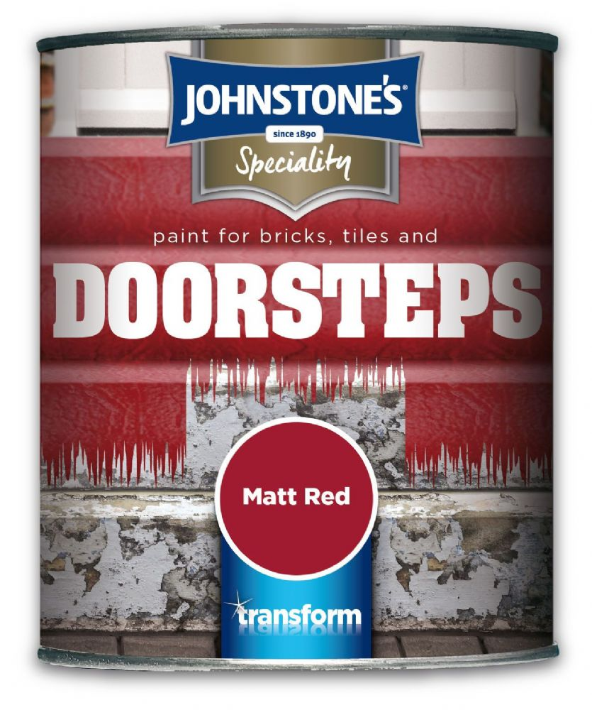 Johnstones Speciality Paint for Bricks, Tiles and Doorsteps 750ml